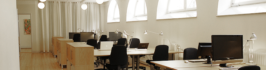 Rent office space in Stockholm.